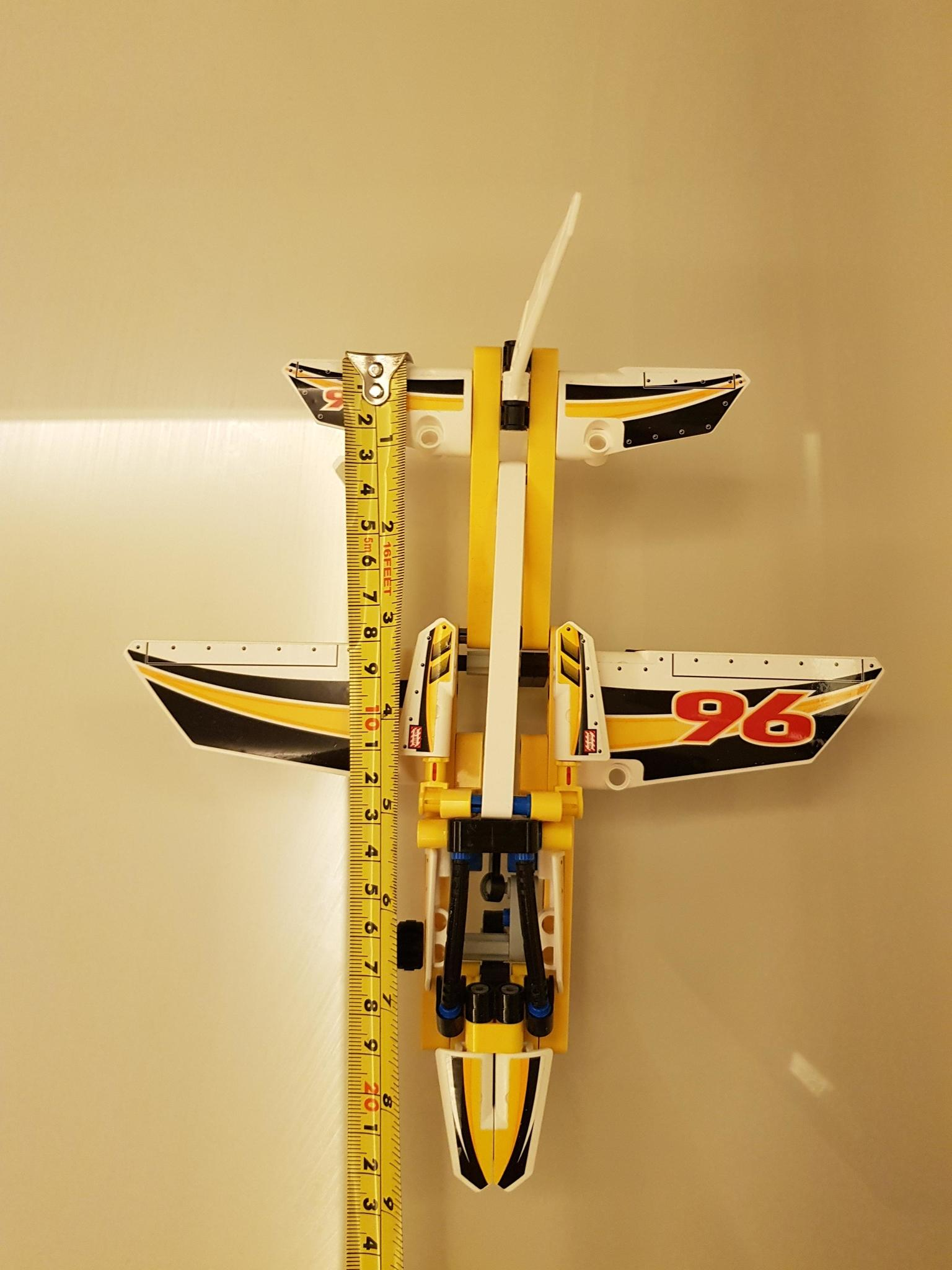 LEGO Technic Display Team Jet 42044 (Assembled)