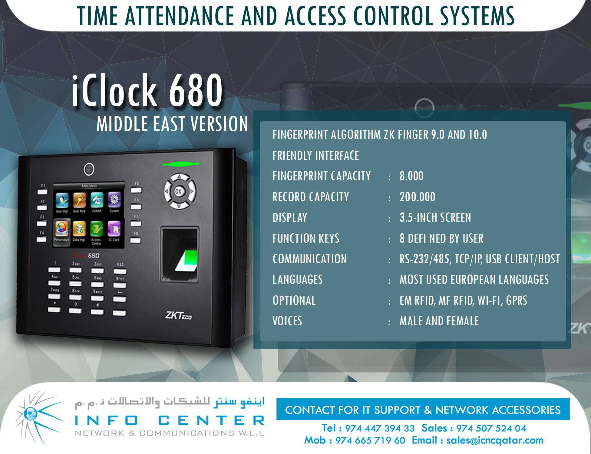 IT Solutions / WiFi/Time Attendance / Access Contr
