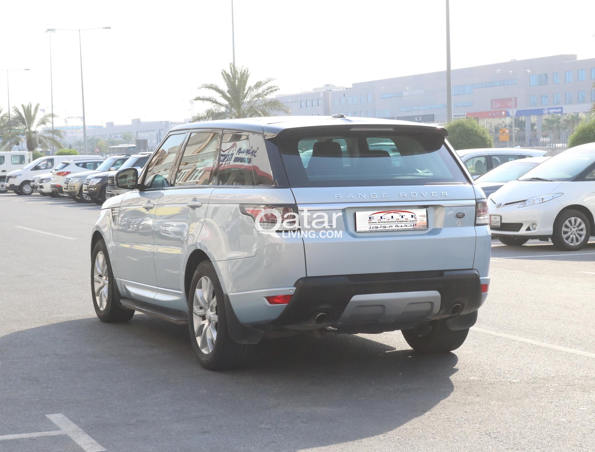 Range Rover -Sport supercharged    Model 2014