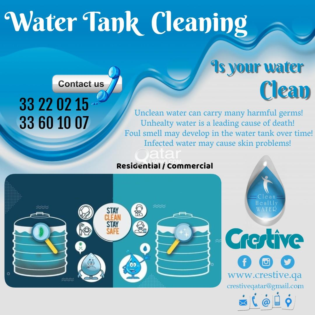 Water Tank Cleaning Services in Qatar call:3322021