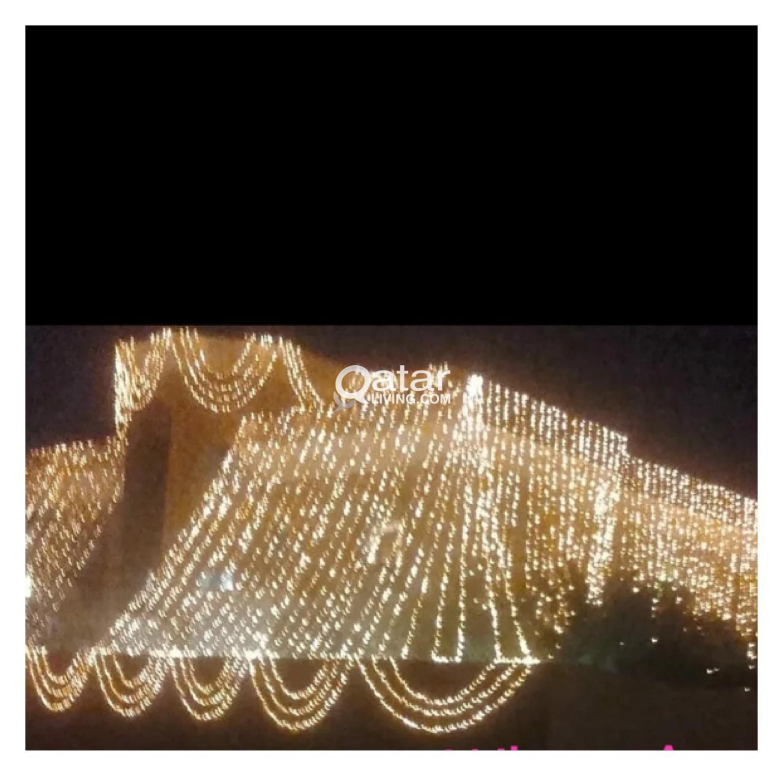 AL-MUNIR HOME LIGHTING. Wedding lighting, Khaima t