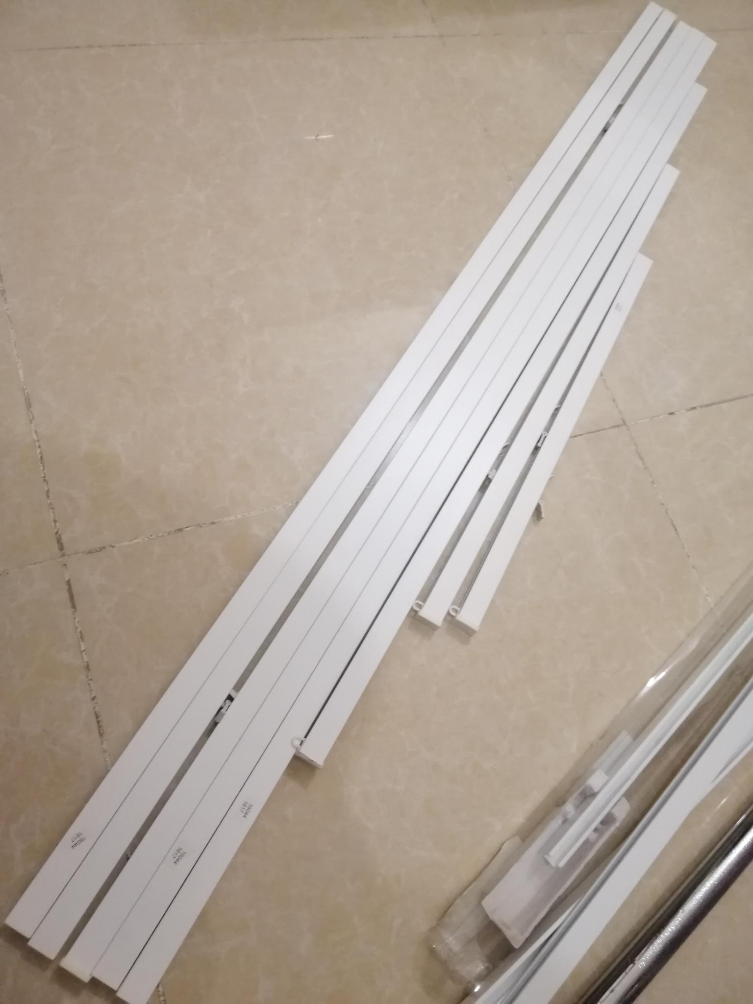 IKEA -VIDGA-7 CURTAIN ROD-SINGLE TRACK SET FOR WAL