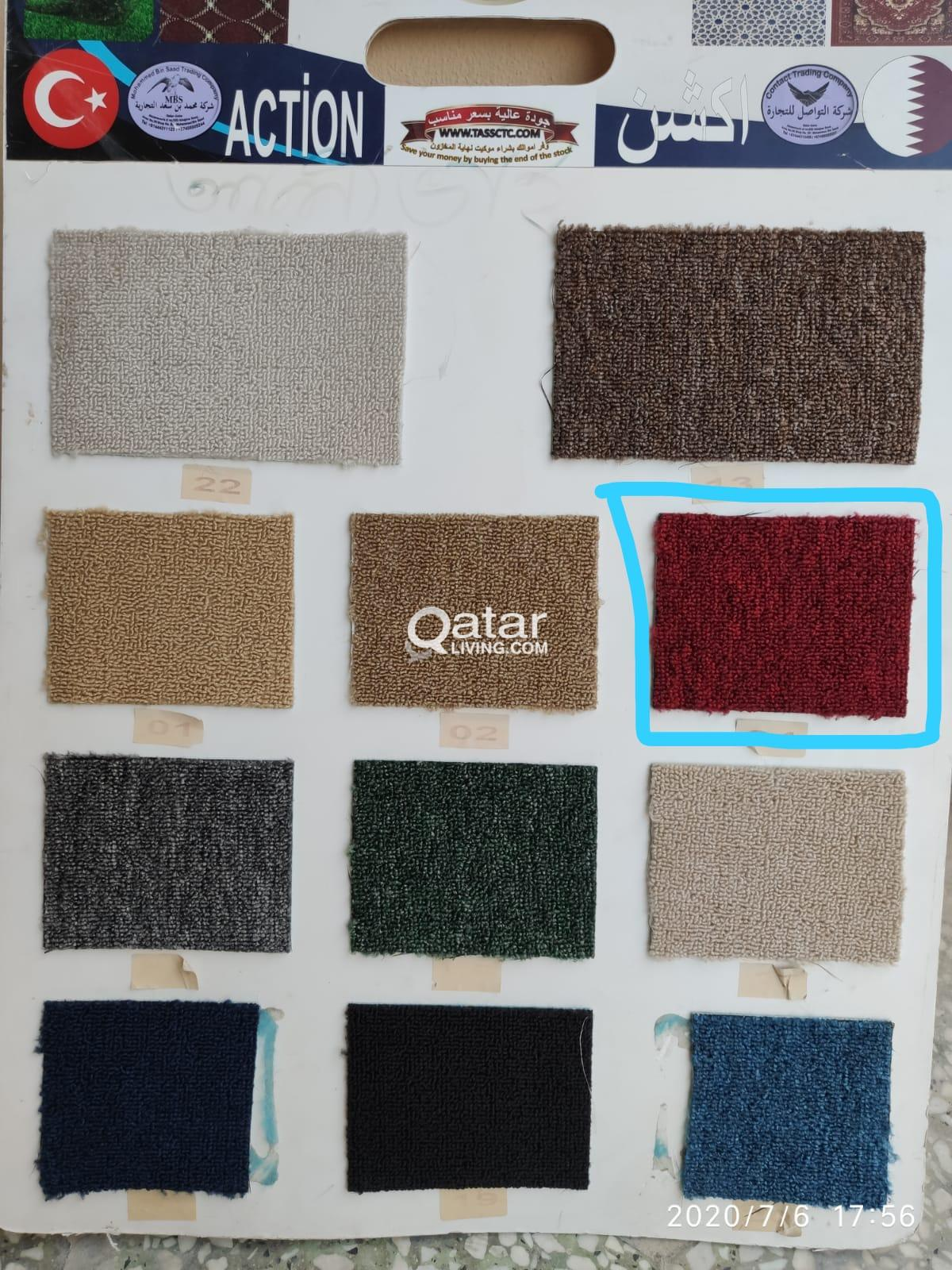 Fixing and Selling Carpets, Blinds, Grass carpet,