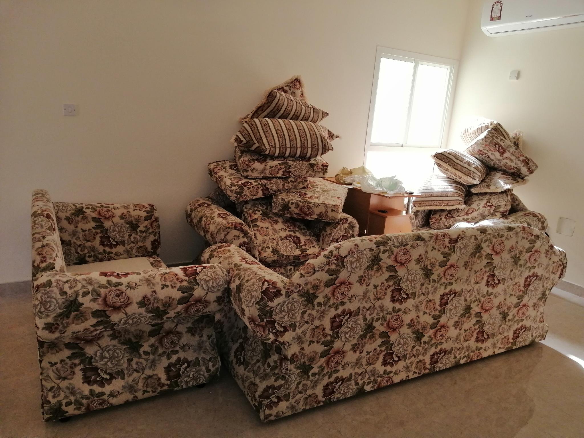 Sala Sofa set (3+2+1+1) for Sale