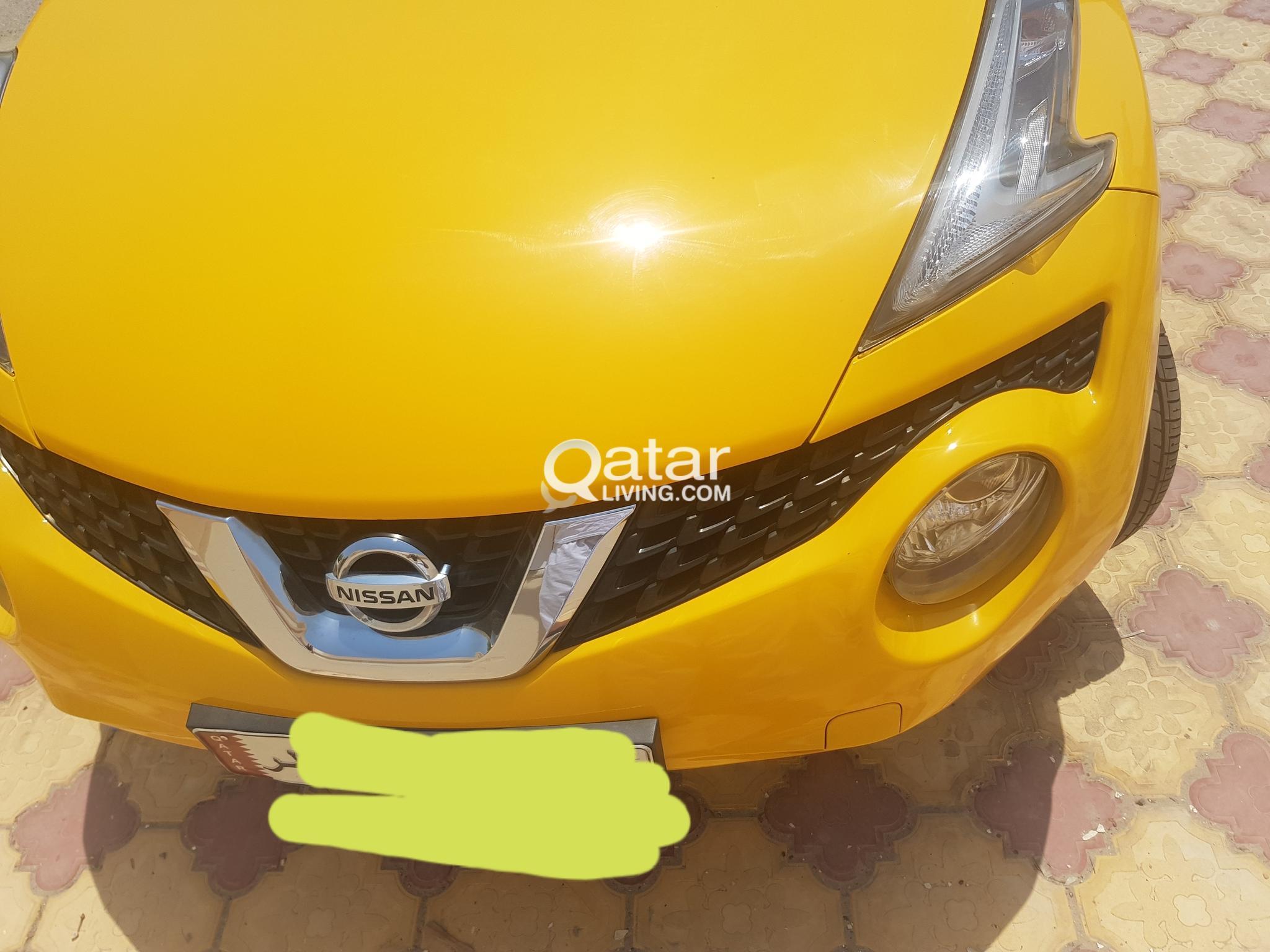 Nissan juke 2015  yellow