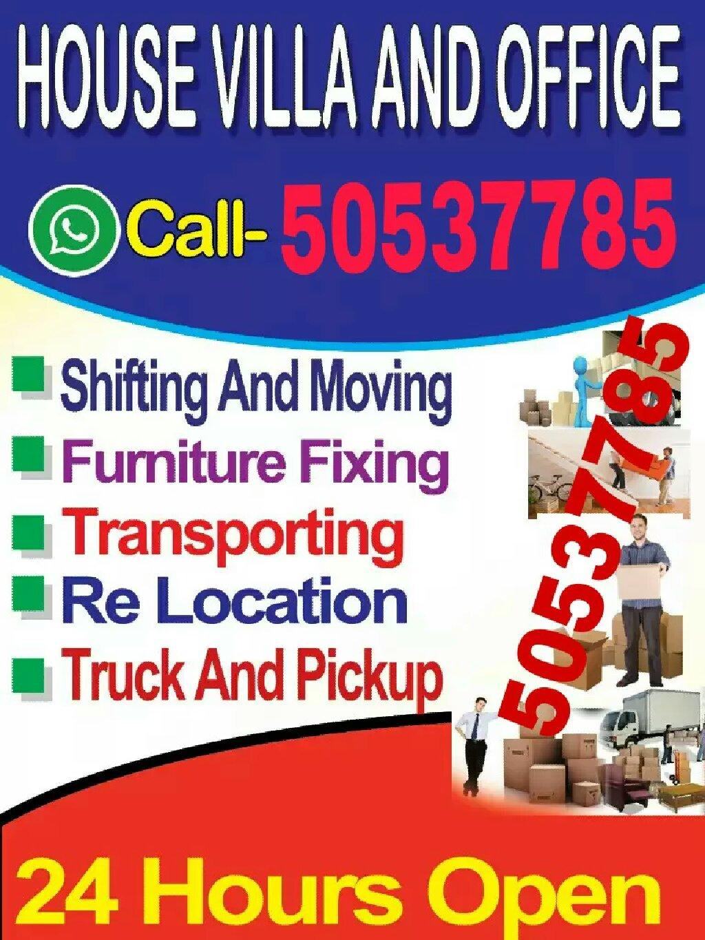 We do moving shifting for good price, Please call