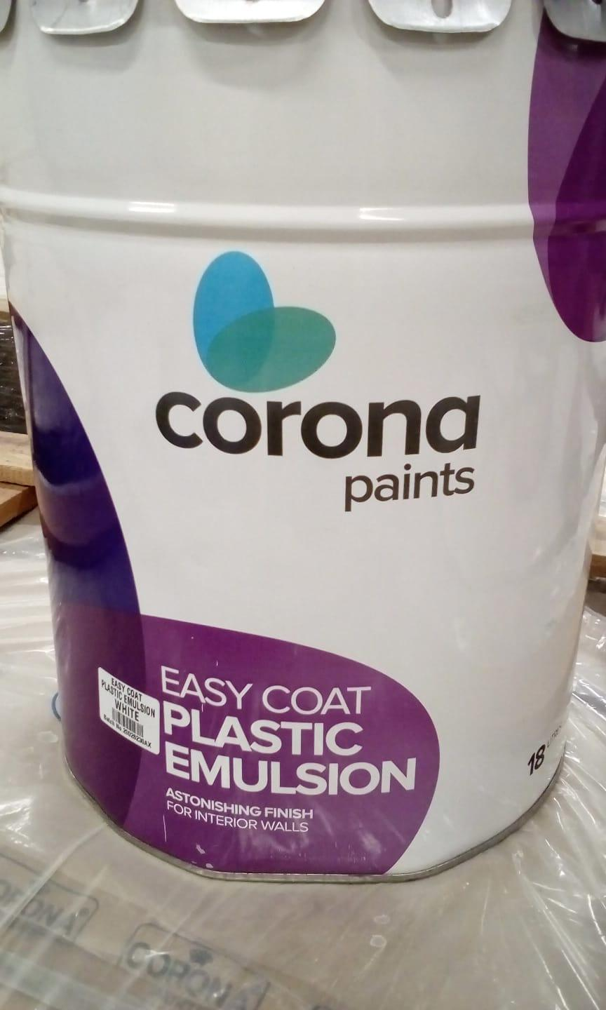 PAINT - EMULSION - WHITE 18LTR