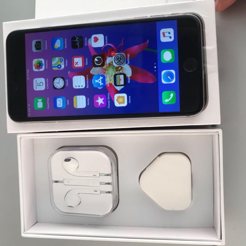 I Phone 6 Plus 64 GB Black