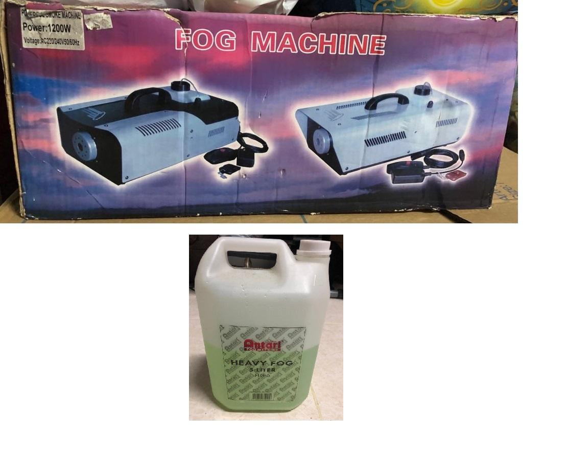 Fog Machine + liquid
