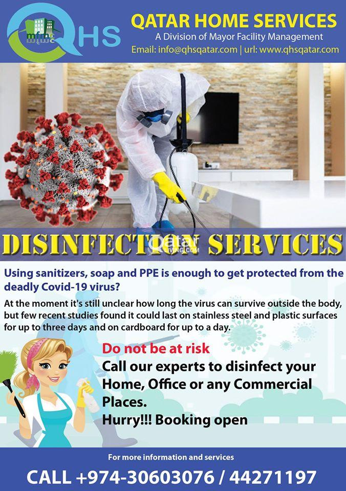 #DisinfectionServices