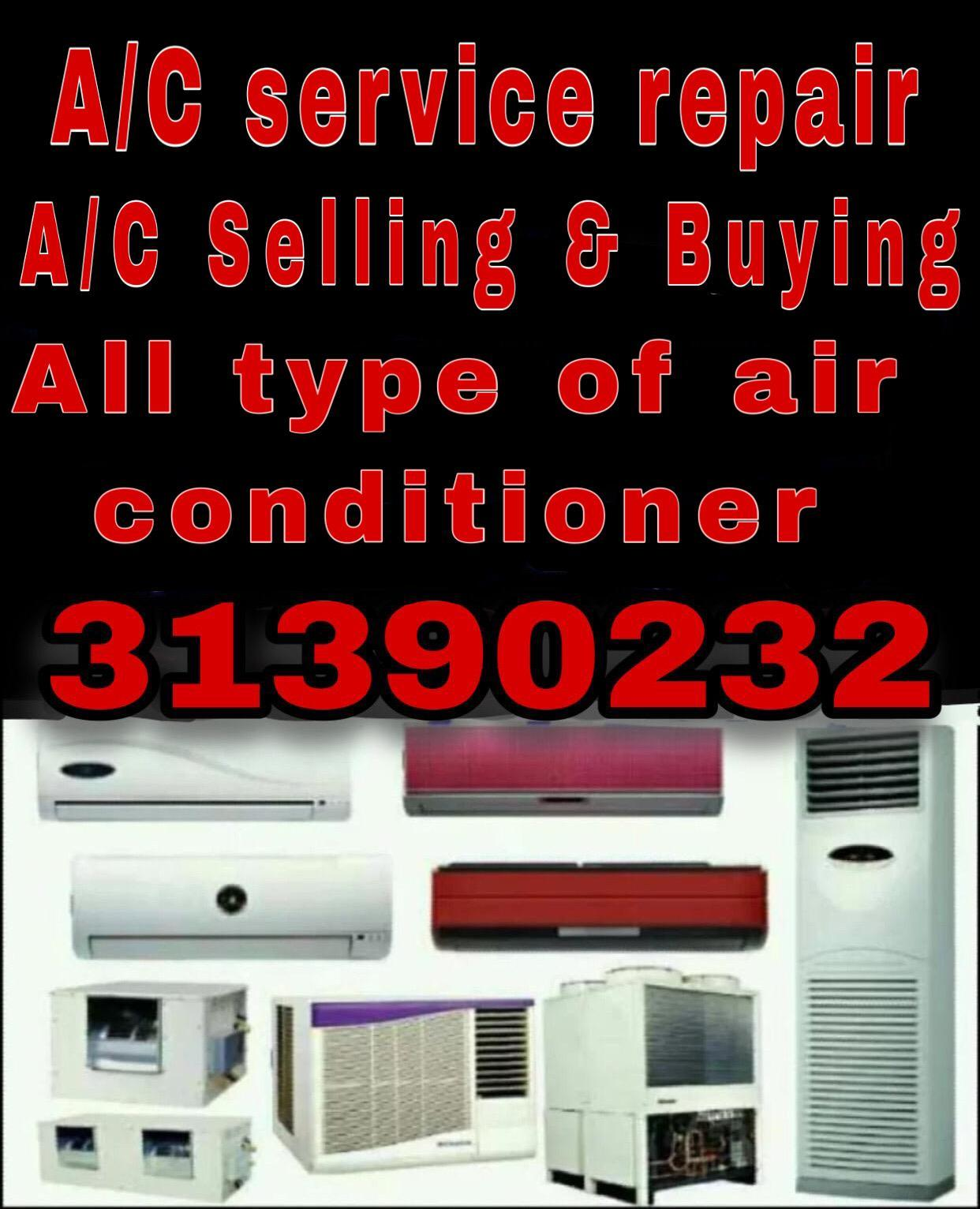 AC/ Selling and Fixing, Buying & Selling, Servicin