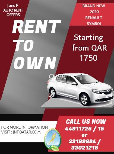 Easy RENT TO OWN with Zero down payment
