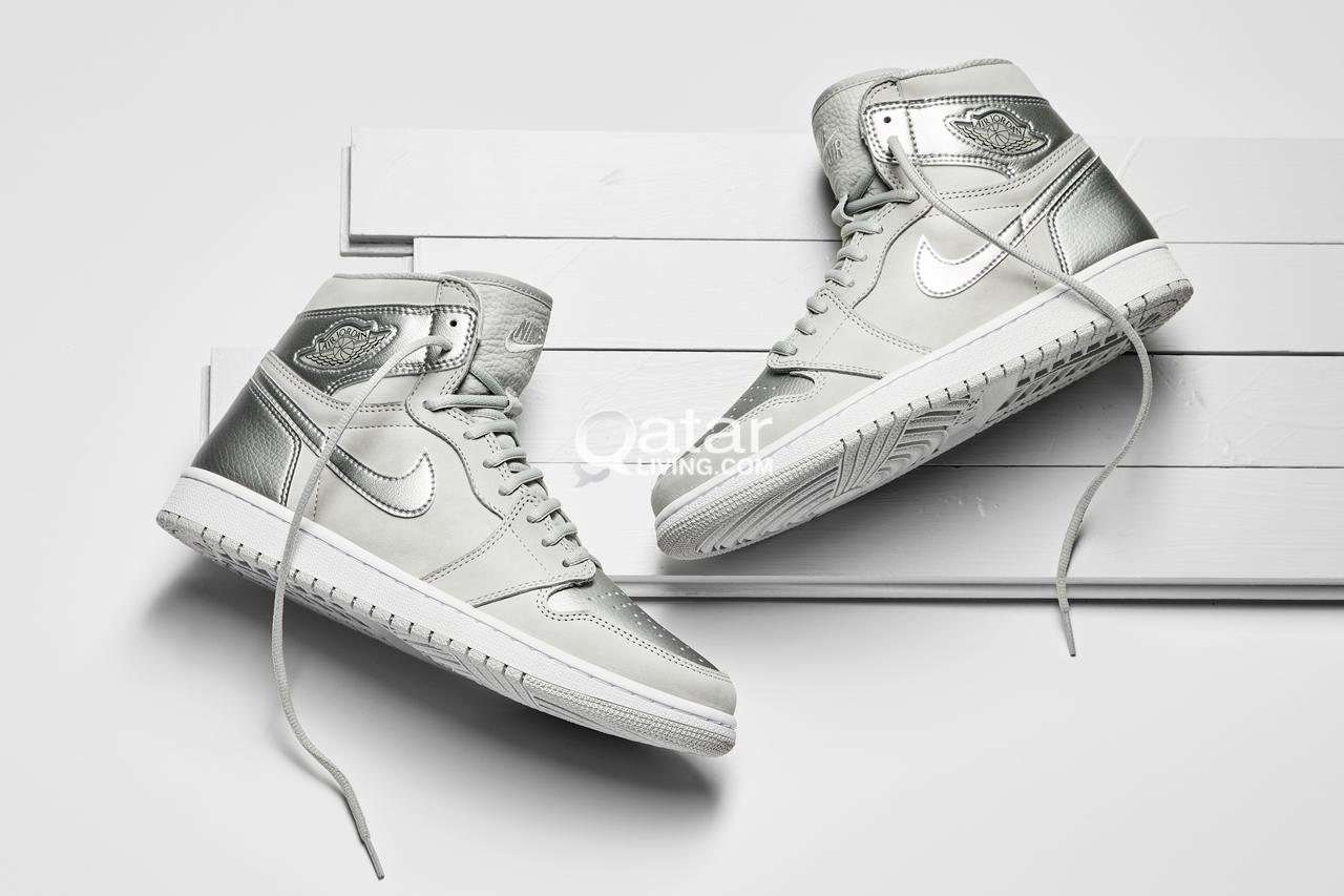Nike Jordan 1 High OG CO.JP Neutral Grey Metallic