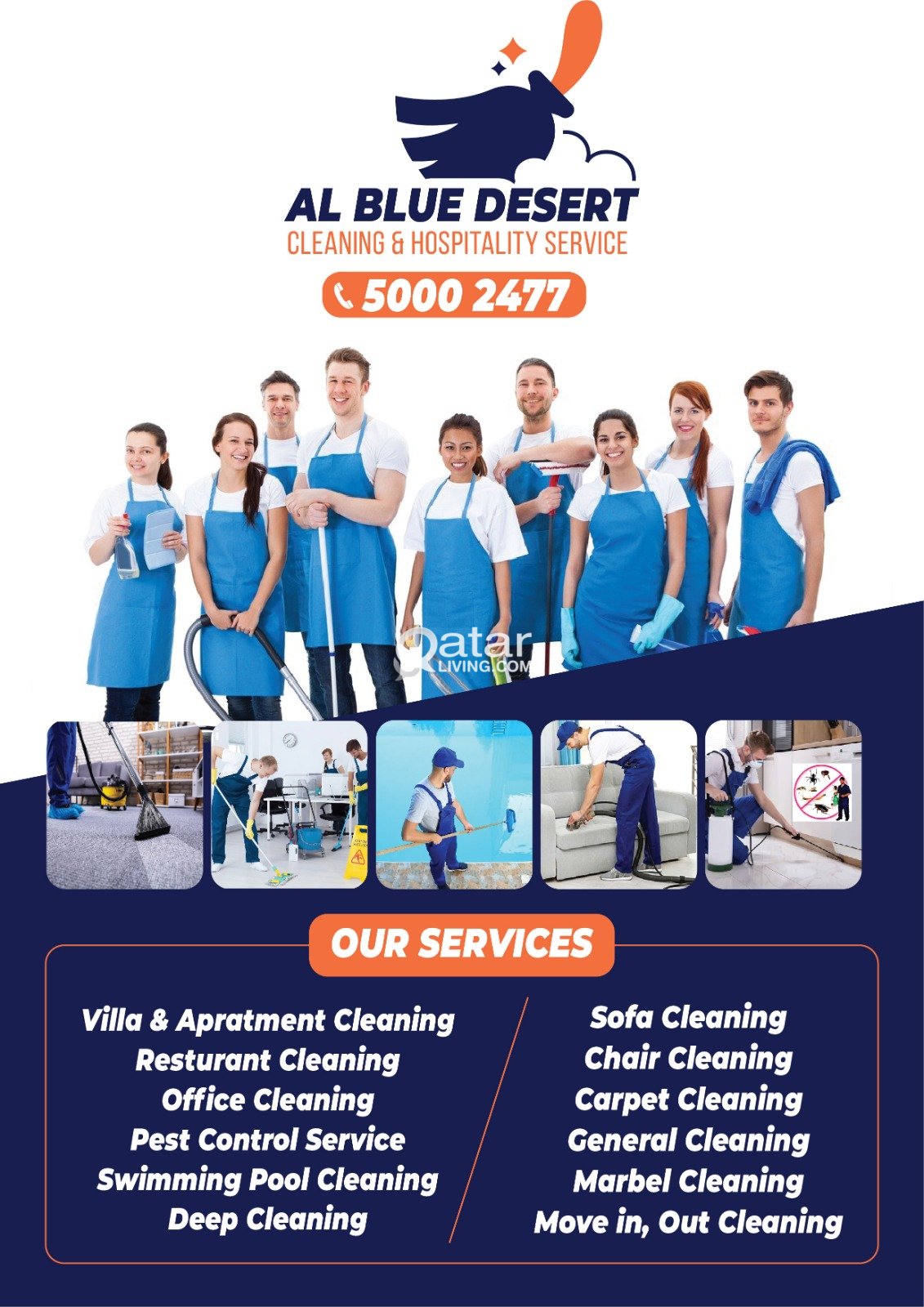 Commercial Cleaning, Pest Control, House Keeping &