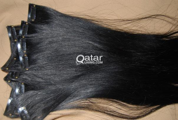 Clip Hair/ Black Color Long
