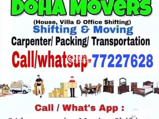 Best prices- Moving shifting with carpenter transp