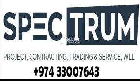2 years old Qatar company for sale. SPECTRUM PROJE