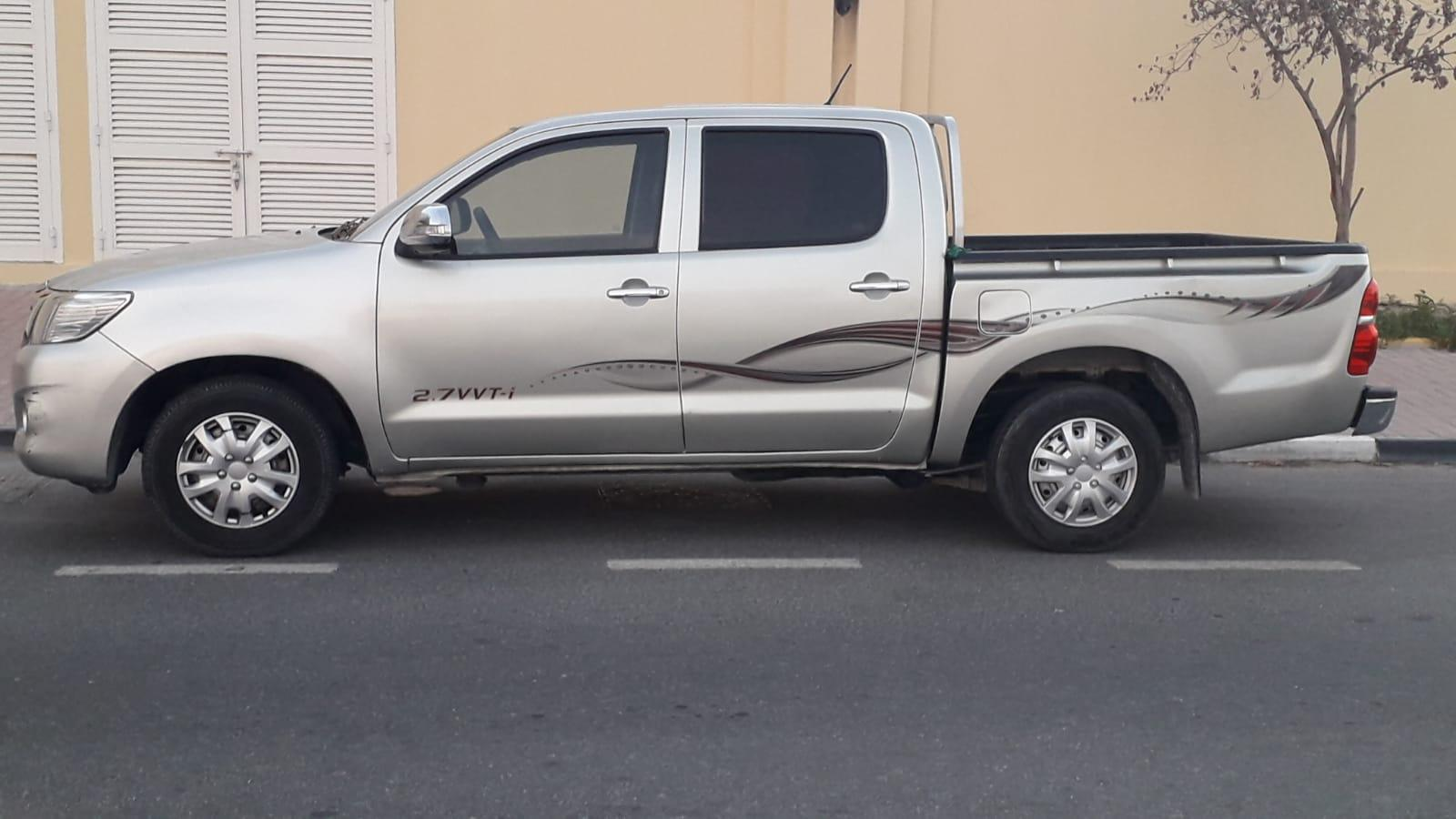 TOYOTA HILUX 2013 Pick-Up -AUTOMATIC Transmission