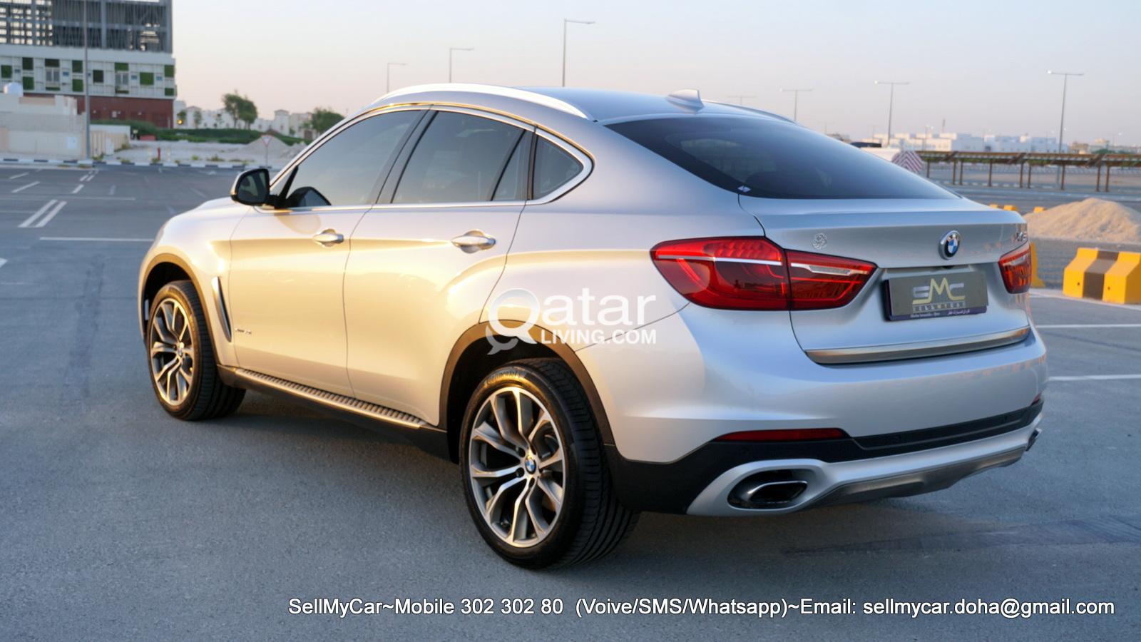 2018 BMW X6 5.0 X-Drive (Sport + Premium Package)