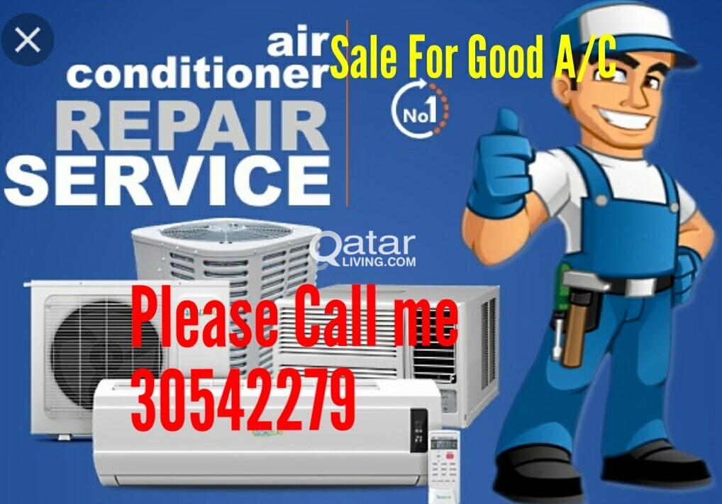 A/C selling and fixing repairing and service call
