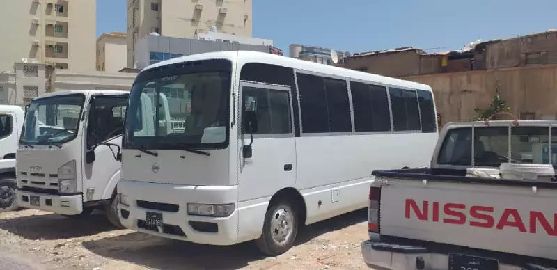 Nissan civilian bus 2015 for rent 4500