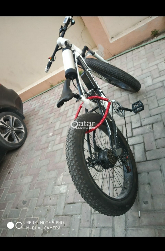 Smart bycycle electric+paddle.