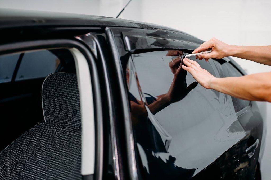 car windor glass tinting