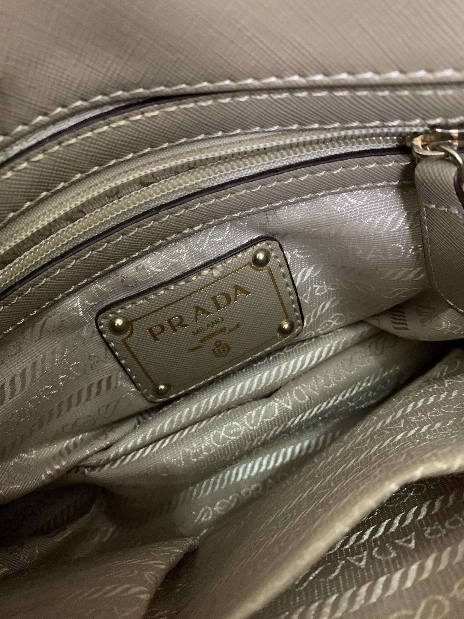 "Prada bag "" copy one "" almost new"""