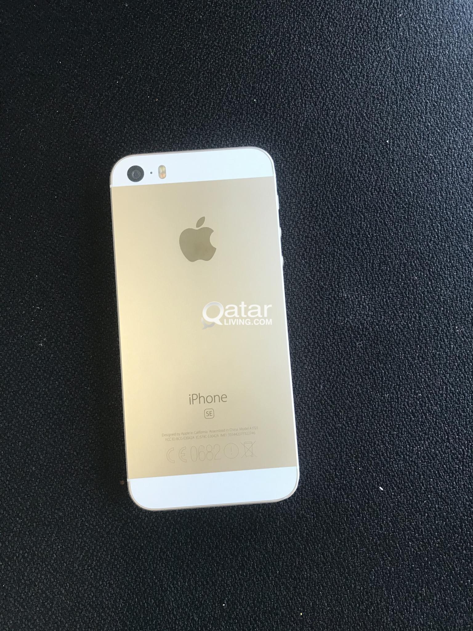 IPHONE SE GOLD 64 GB - 500 QR
