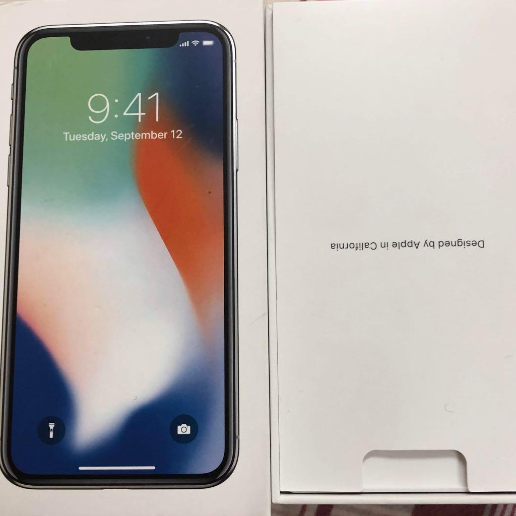Iphone X 256 Silver With Warranty Till 30/10/20