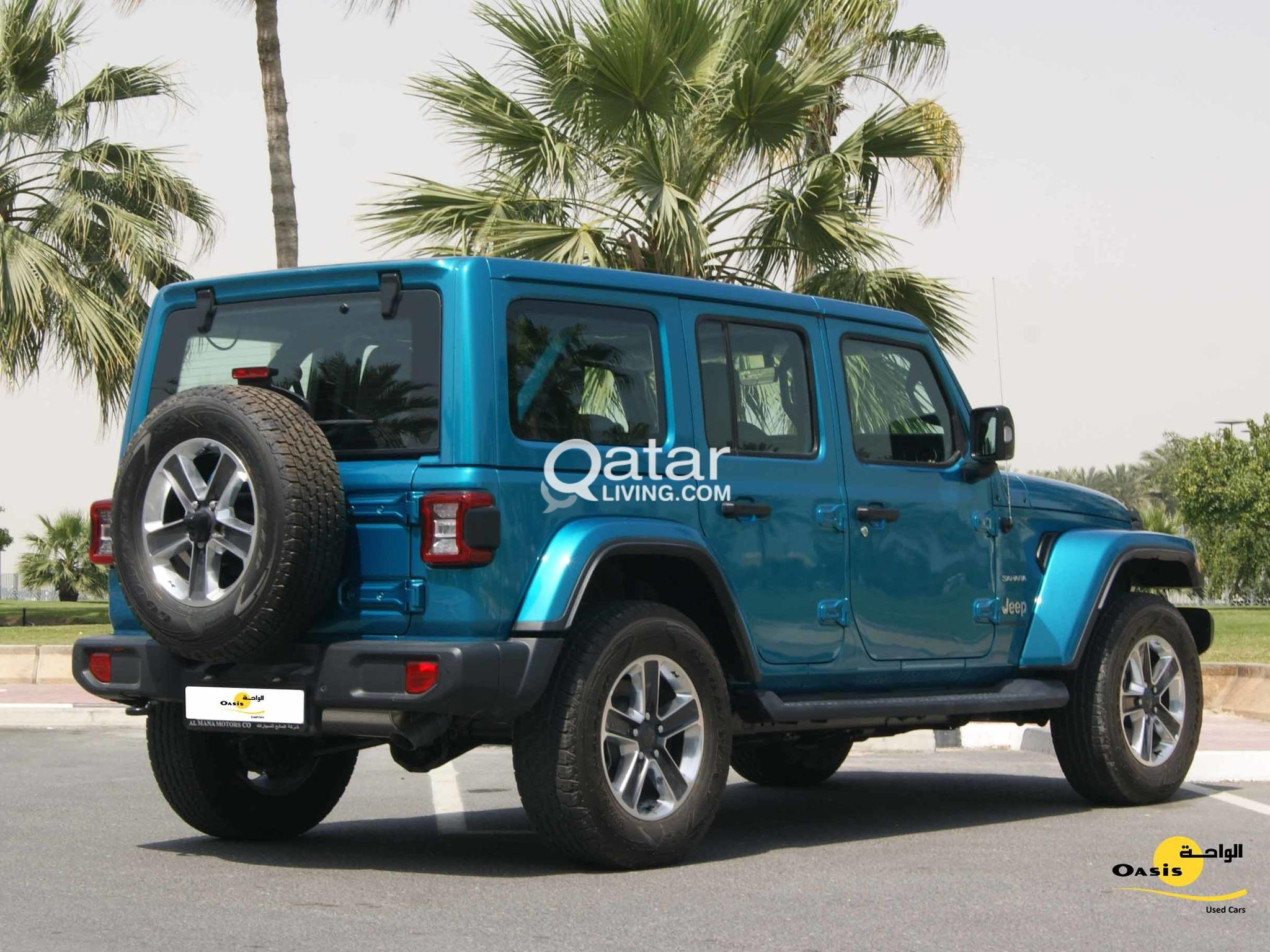 Jeep Wrangler Unlimited - Leather Seats
