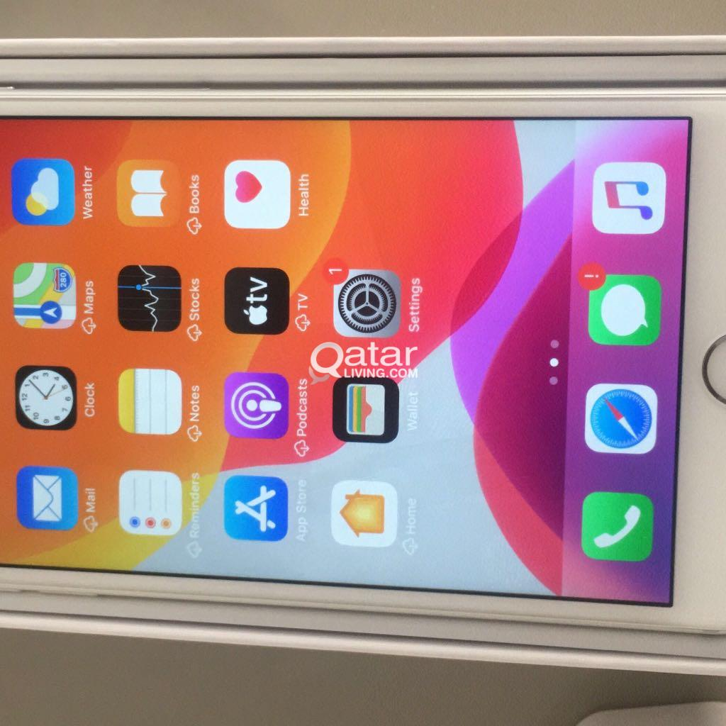 I Phone 6S Plus 128 Gb Silver White