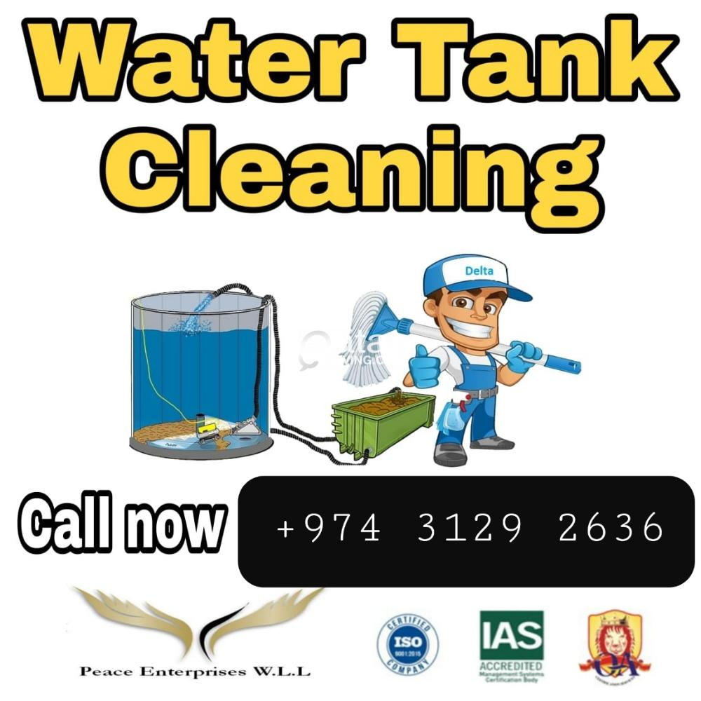 Water tank cleaning & more other services