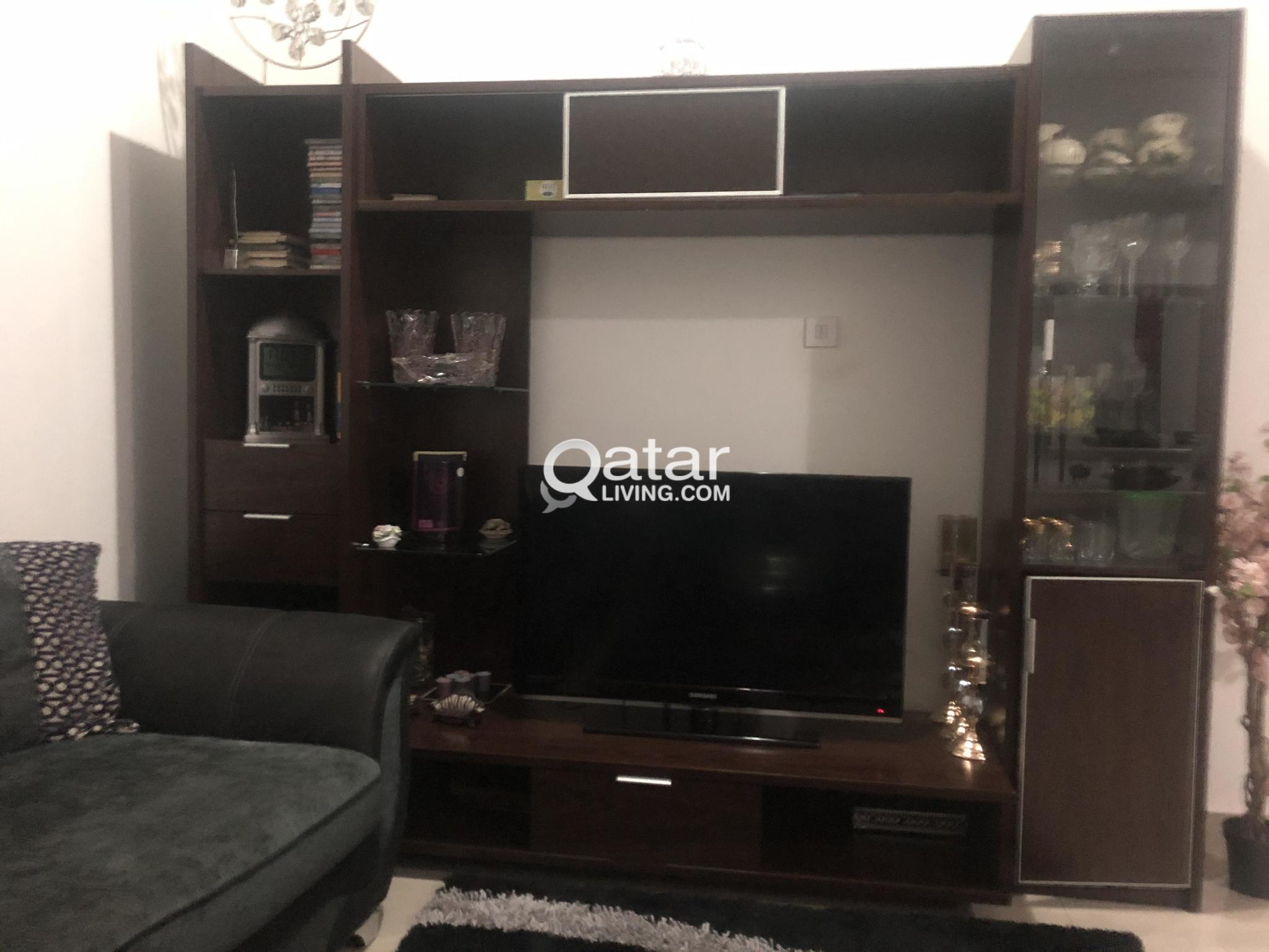 6 and 4 Doors Cupboards/Wardrobes and Media Wall f