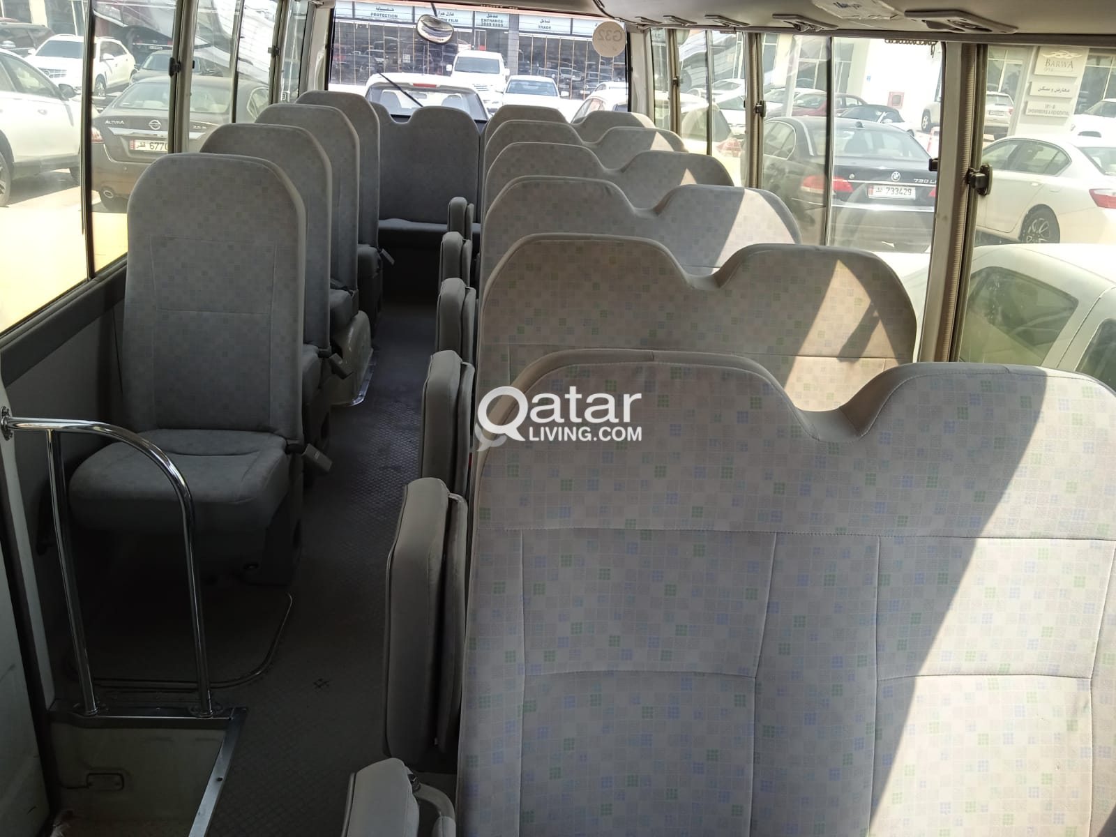 Toyota coaster Bus 30 seats petrol