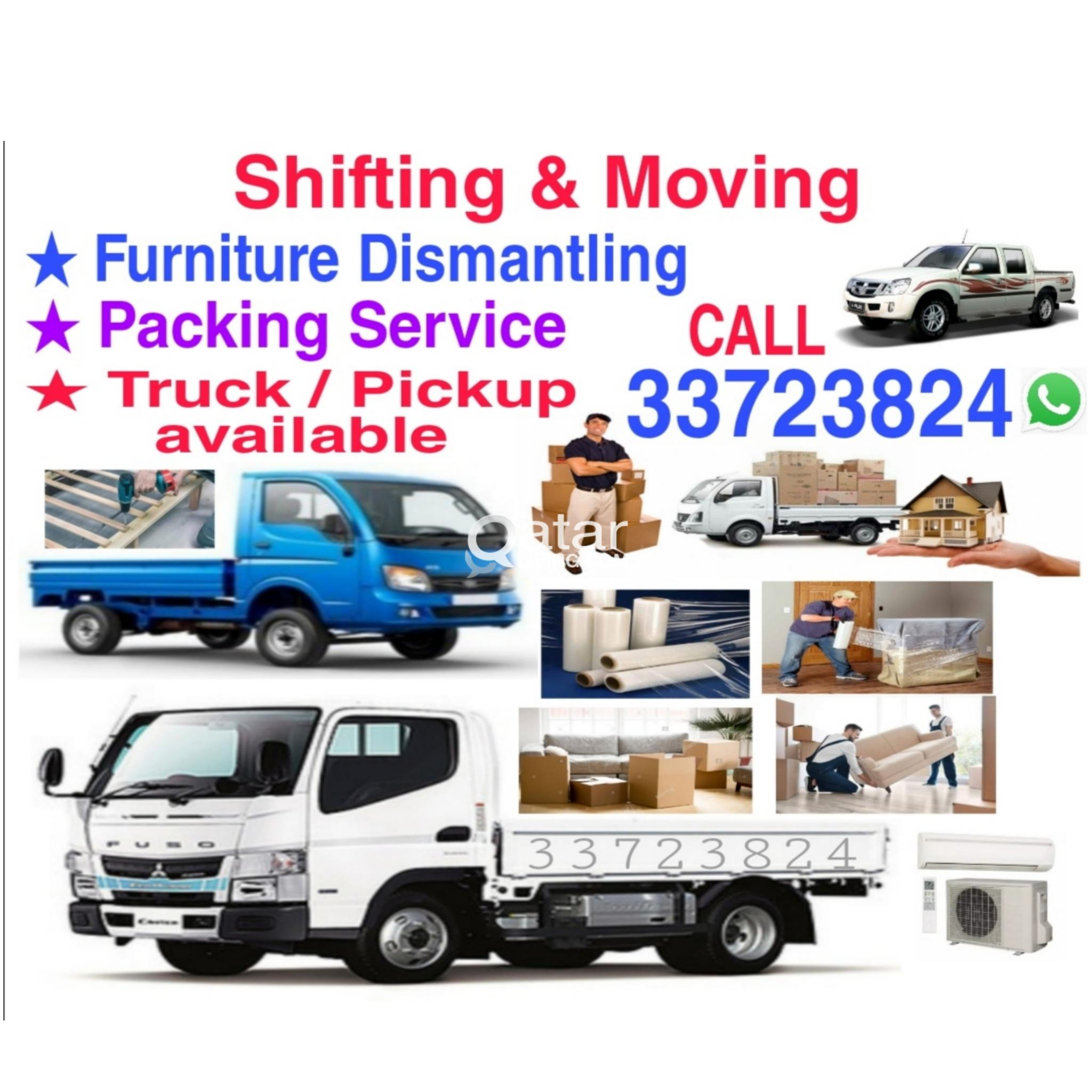 Good price,Shifting Moving,Truck/Pickup available