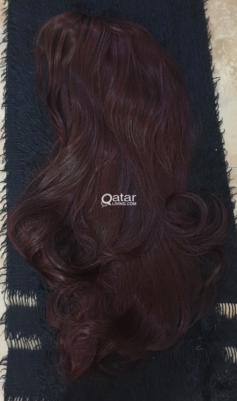 Brand new Wig, silky long n wavy, from Brazil