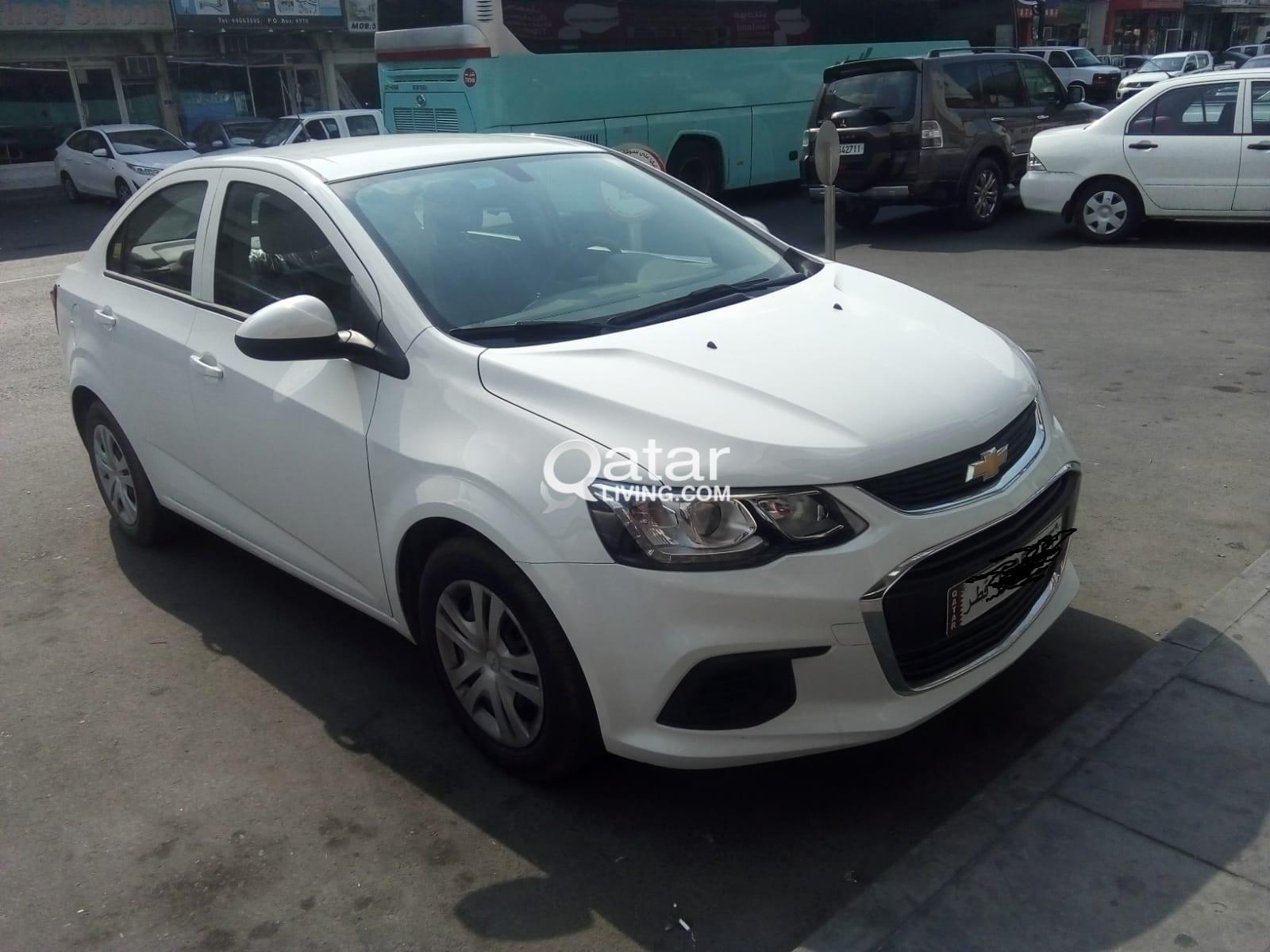 2019 MODEL CHEVROLET AVEO, MONTHLY 1300 QR ONLY