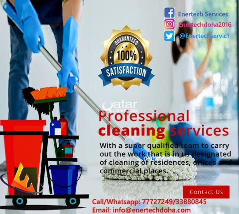 Best Cleaning Services at Pearl Qatar