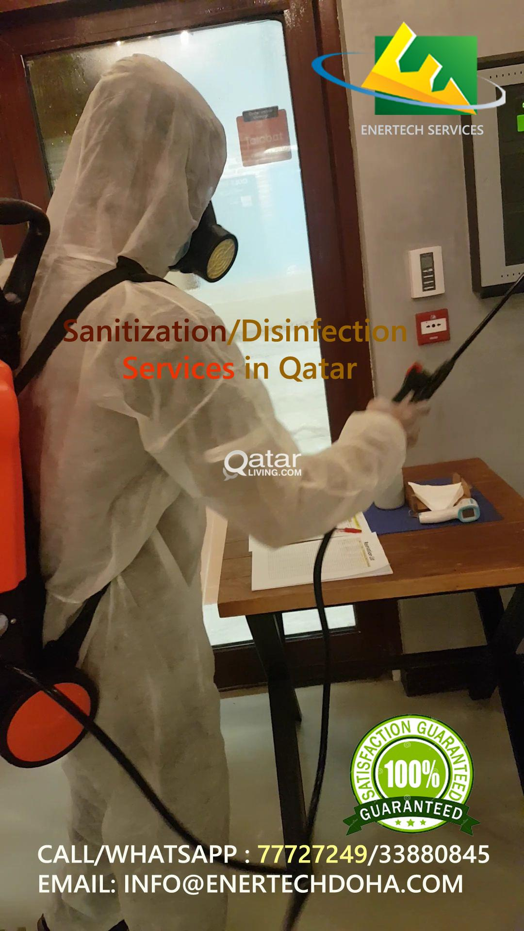 Sanitization/Disinfection Services in Qatar
