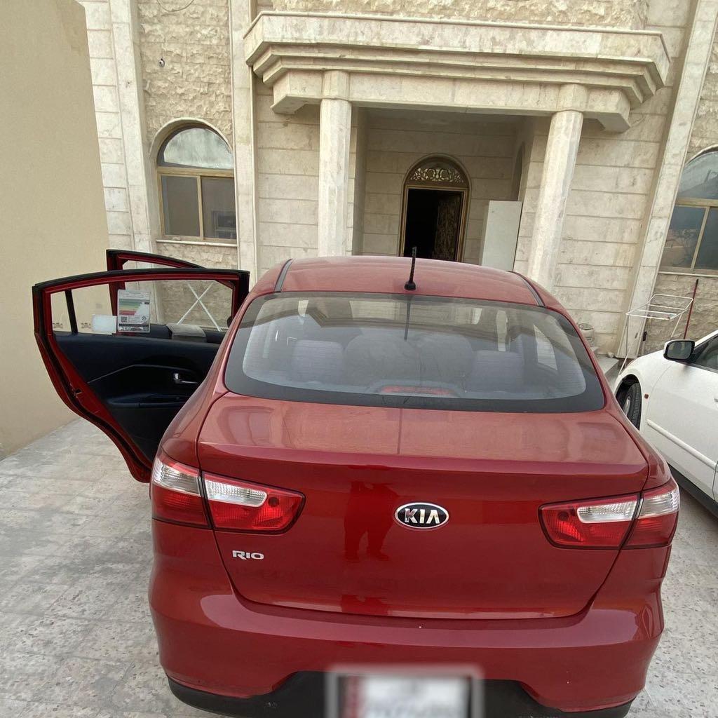 Kia Rio Sedan - Neat and clean one.
