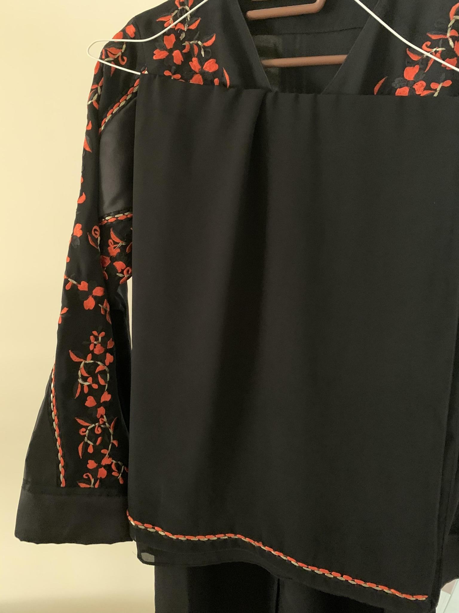 Abaya Code:02 - Orange