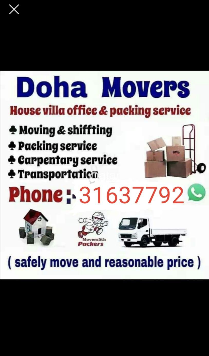 Any Moving, Shifting & Carpentry works..We also gi