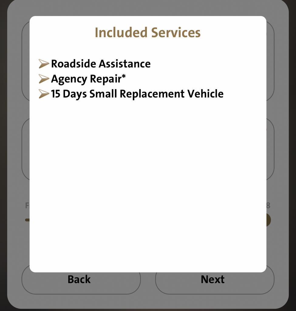 Pajero Full Option Comprehensive insurance