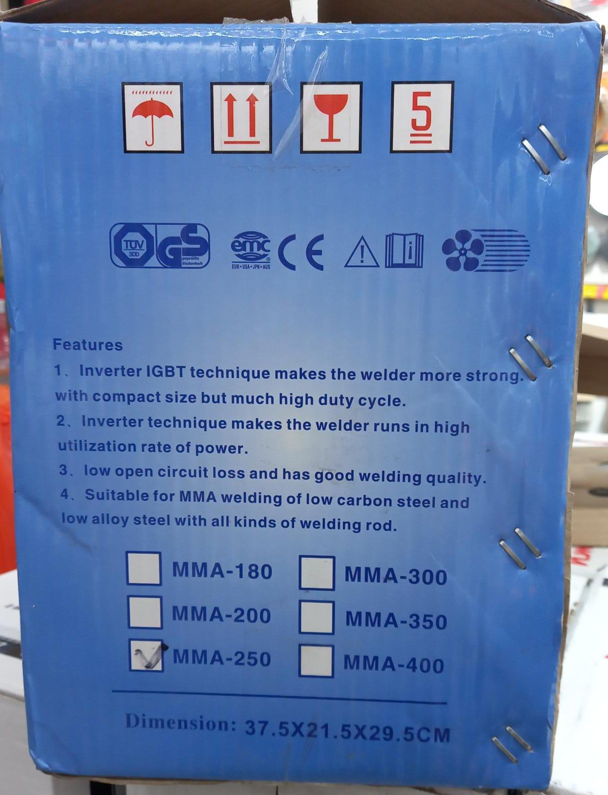 Welding Machine including all accessories (Brand n