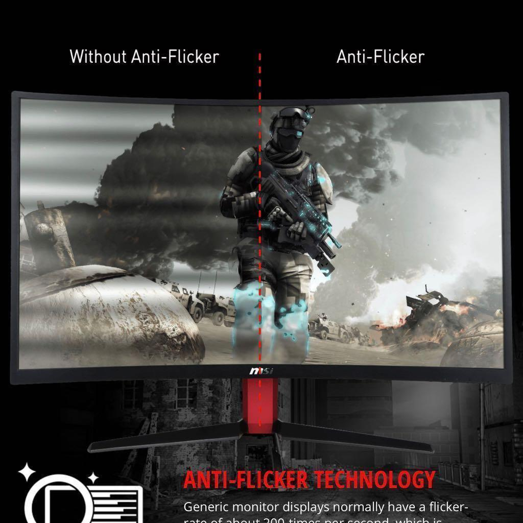 gaming screen 165 HZ MSI optix AG32C