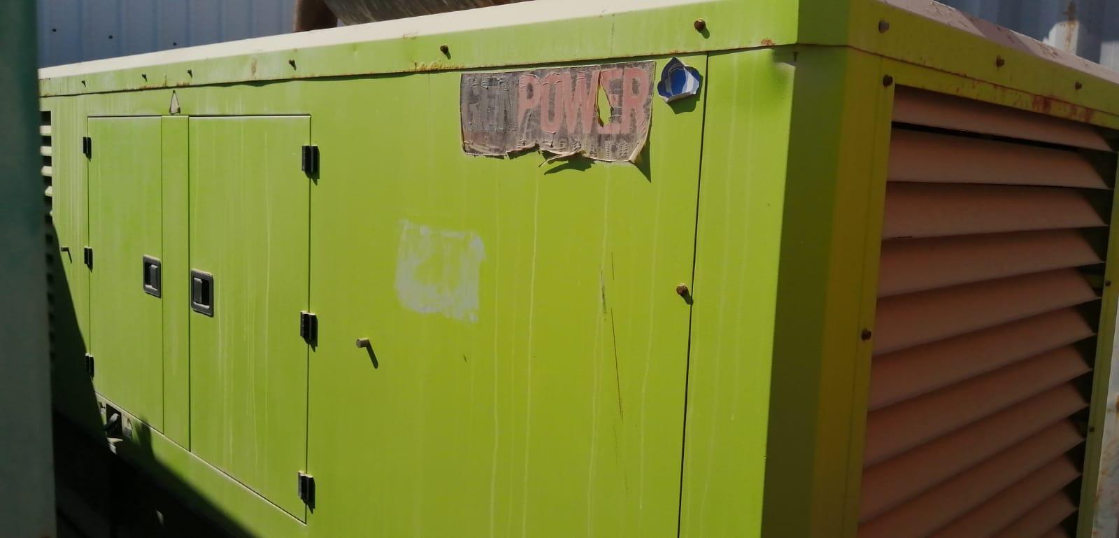 Generator and Synchronization panel