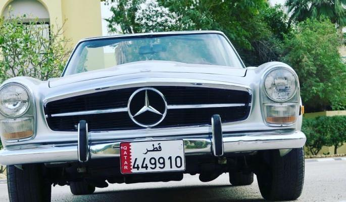 Classic Mercedes 280SL Pagoda 1969