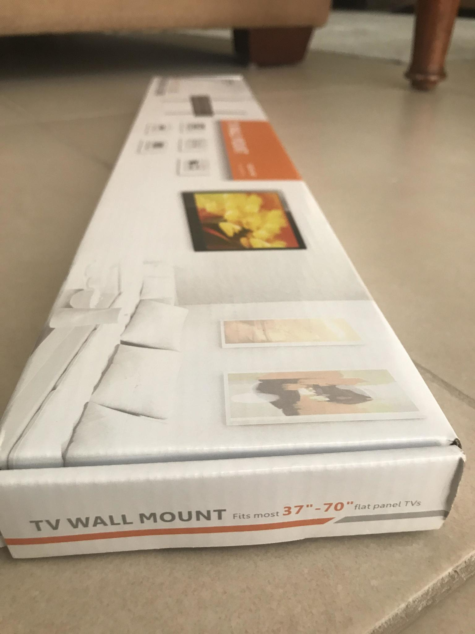 TV WALL MOUNT  fits most 37'' - 70'' flat panel T