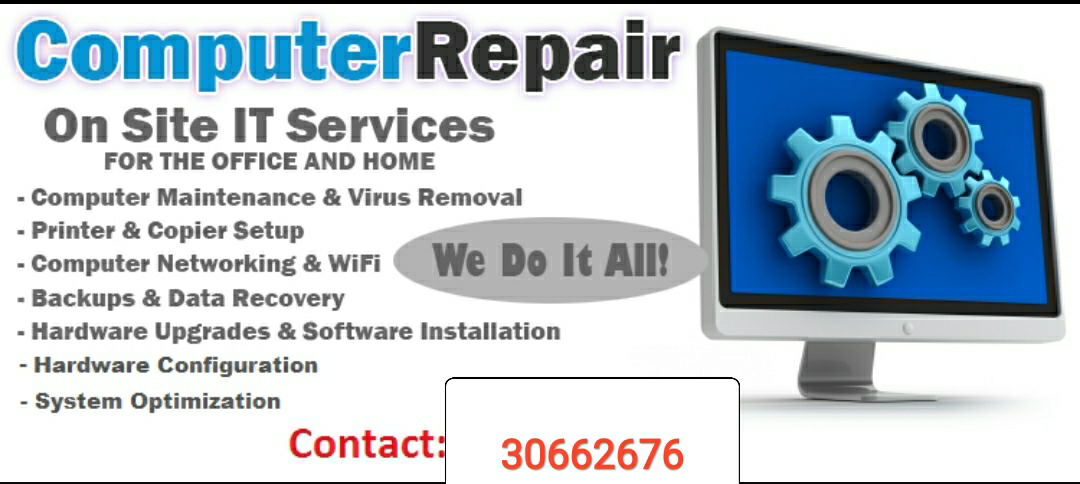 Computer Repair for Home and Office